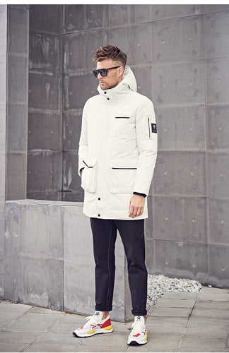 Cotton Thick Hooded Parka