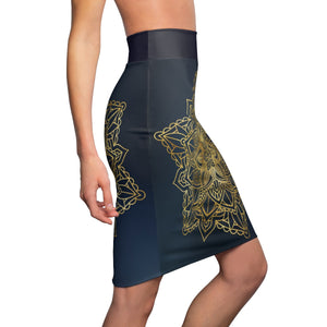 Women's Ethnic Pencil Skirt