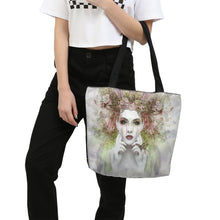 Load image into Gallery viewer, Canvas Zip Tote Bag