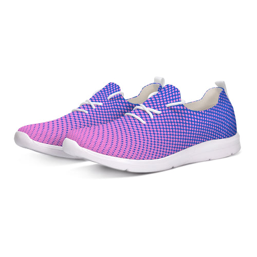 Men's Lace Up Flyknit Shoes