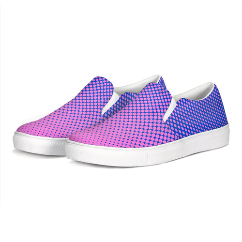 Gradient Slip-On Canvas Shoes