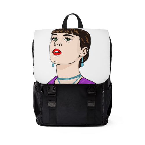 Women's Portrait Shoulder Backpack