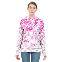 Load image into Gallery viewer, Women's Pink Dots Hoodie