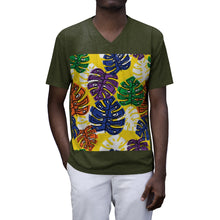 Load image into Gallery viewer, Men's V-Neck Short Sleeve T-Shirt