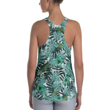 Load image into Gallery viewer, Women's Jungle Leaf Racerback Tank - zoviana