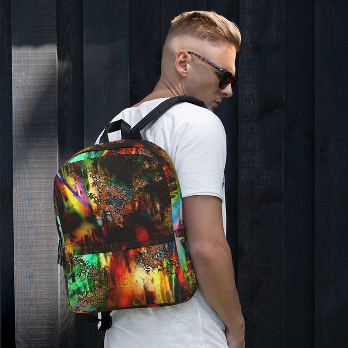 Men's Abstract Art Backpack