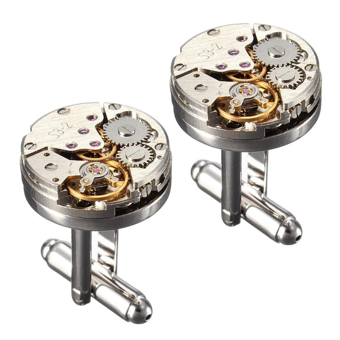 Mechanical Watch Cufflinks