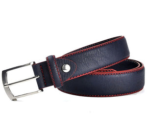 Men's High Quality Split Leather Italian Design Belt - zoviana