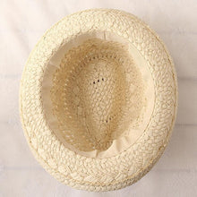 Load image into Gallery viewer, men Vintage Tassel Balls Straw Beach Panama Hat - zoviana