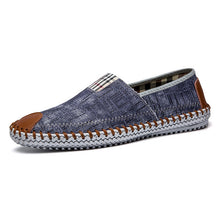 Load image into Gallery viewer, Men Denim Canvas Breathable Espadrilles - zoviana