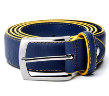 Load image into Gallery viewer, Men's High Quality Split Leather Italian Design Belt - zoviana