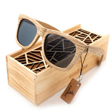 Load image into Gallery viewer, Handmade Nature Wooden Polarized Sunglasses - zoviana