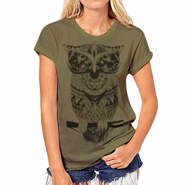 Womens Short Sleeve O-neck Casual T Shirt - zoviana