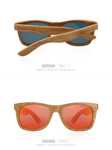 Retro Wooden Handmade Polarized 100% UV Sunglasses - zoviana