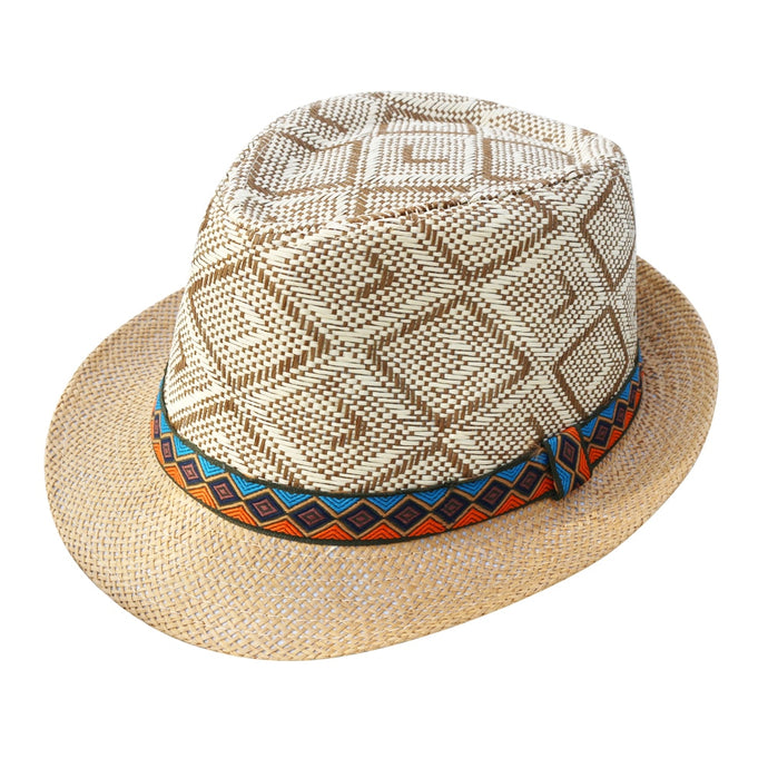 Men Straw Hat Panama Hat - zoviana
