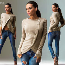 Load image into Gallery viewer, Women Single Breasted Button Casual Jacket - zoviana