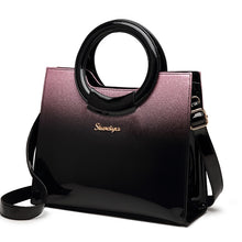Load image into Gallery viewer, Women Patent Leather Messenger Bag Shoulder Bag Tote Bag - zoviana