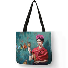 Load image into Gallery viewer, Linen Eco Reusable Tote Bag