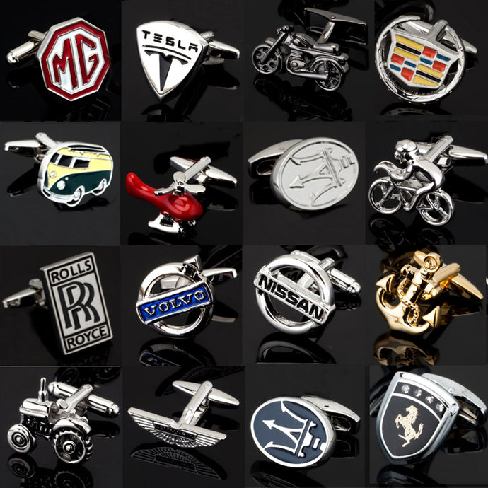 Luxurious Men's Car Cufflinks