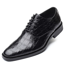Load image into Gallery viewer, Faux Leather Lace-up Round Toe Brogues - zoviana
