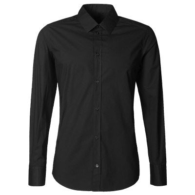 Men Cotton slim Fit Long Sleeve Single Breasted Shirt - zoviana