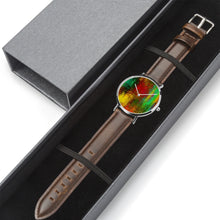 Load image into Gallery viewer, Abstract Colorfull Genuine Leather Watch