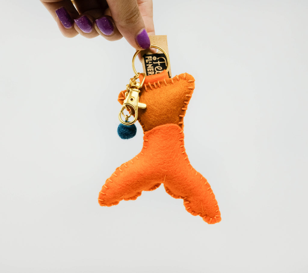 Mermaid Tails - Plush Keychain