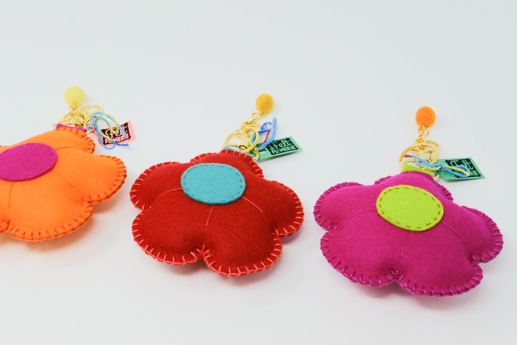 Flowers - Plush Keychain