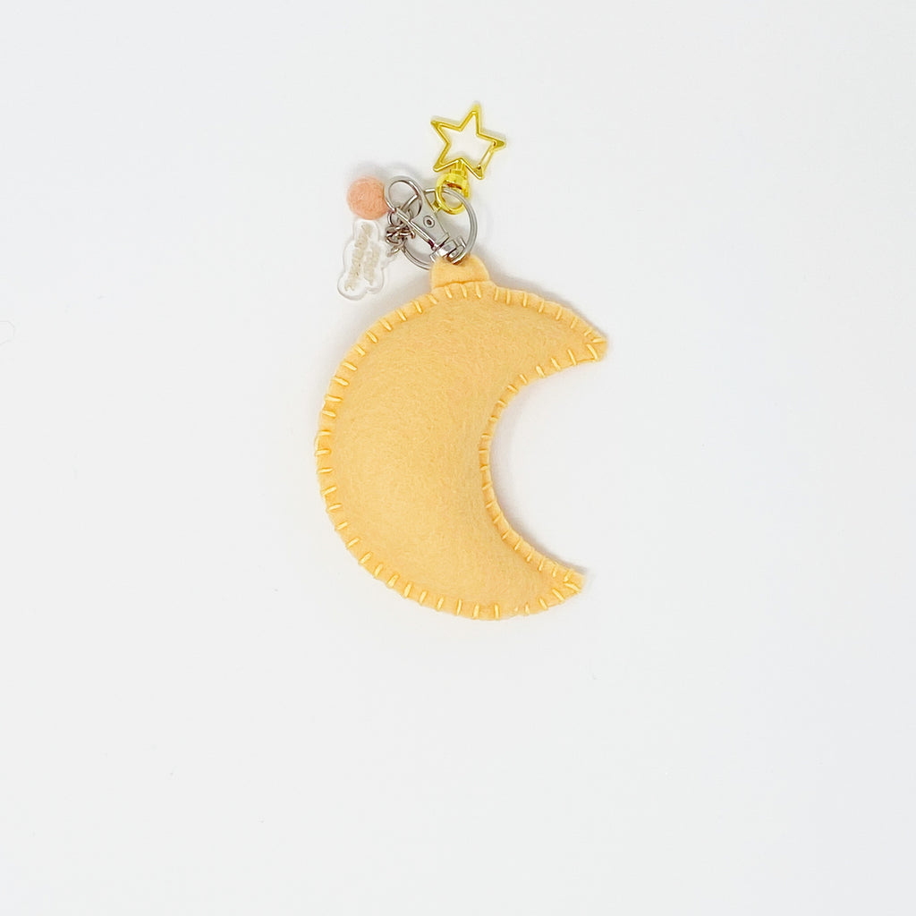 Star and Moon Keychains - Plush keychain