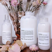 Davines LOVE CURL cleansing cream, LOVE CURL primer, LOVE CURL cream