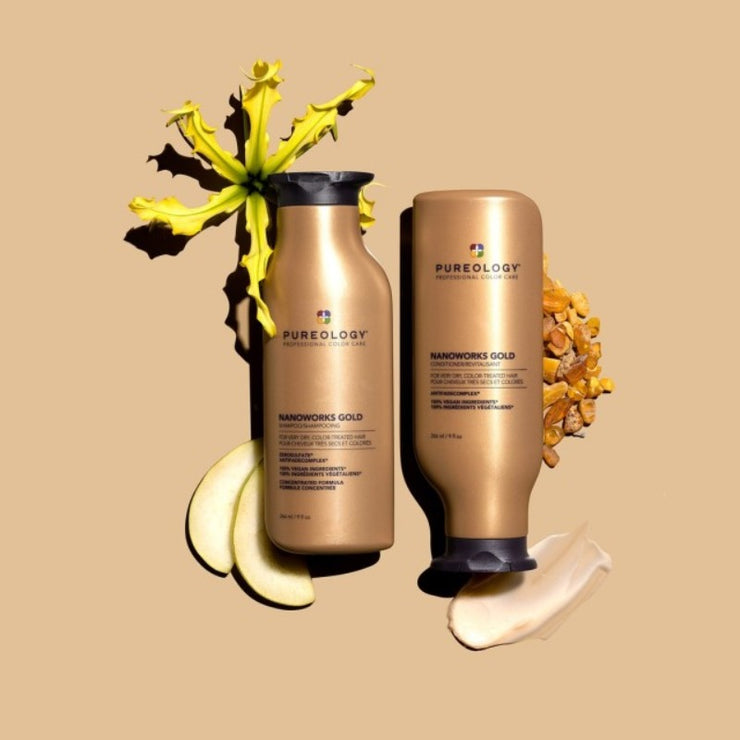 Pureology Nanoworks Gold Shampoo , conditioner