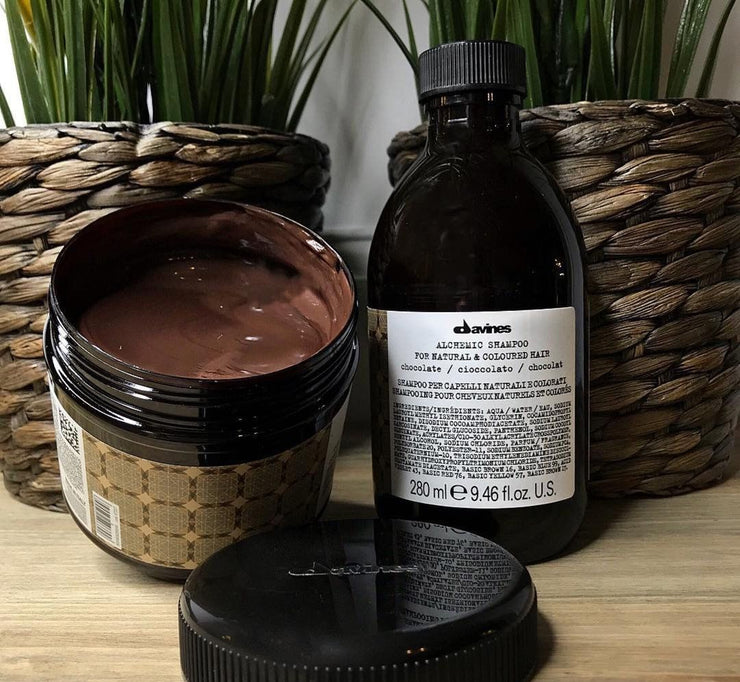 Davines Alchemic Original Chocolate Conditioner and Shampoo