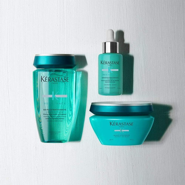 Kérastase Resistance masque Extentioniste Hair Mask , Bain Extentioniste shampoo , serum