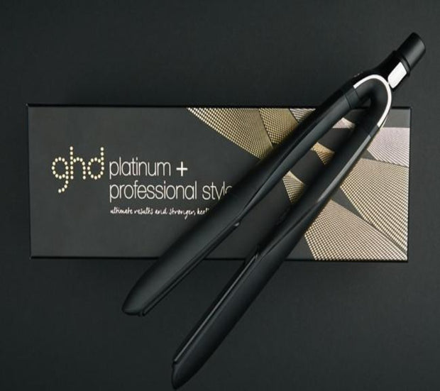 GHD Platinum + Black Styler hair straightener