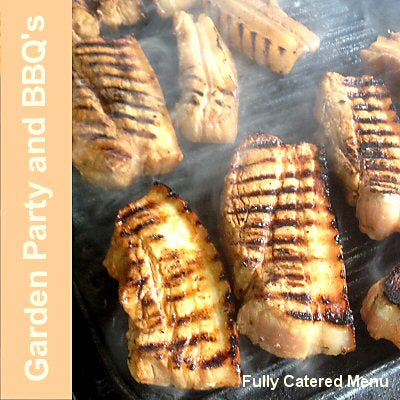 Catering for your barbecue and garden party