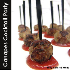 hot canapes for your cocktail party catering