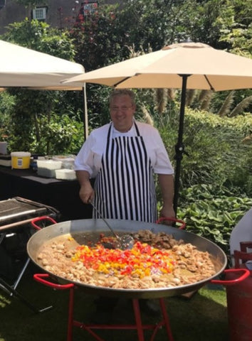 Paella specialist chef Paco London