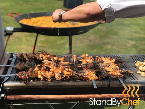 Paella catering for party in London