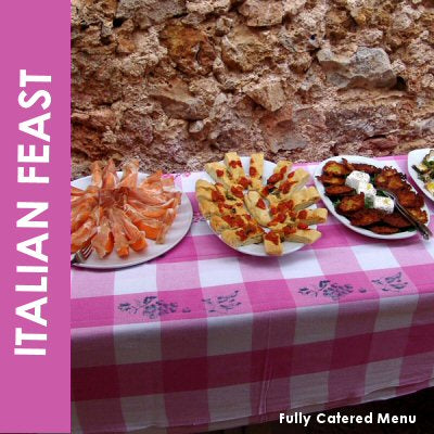 italian catering london to cater for italian party