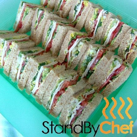Corporate sandwich platter delivery city of london
