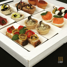 Load image into Gallery viewer, Cocktail Party Canapes Gift Box Kit - COSMOPOLITAN