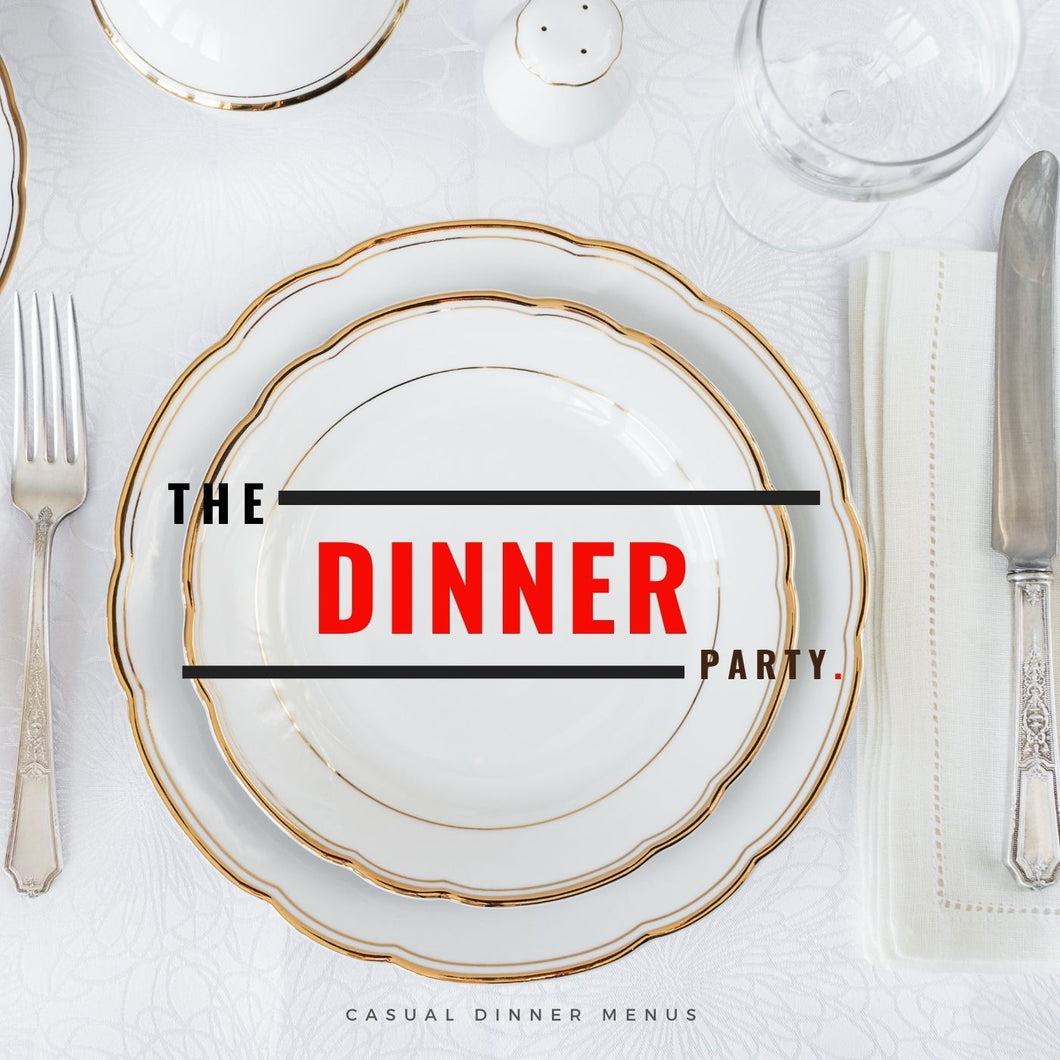 Dinner Party Catering Gift Card