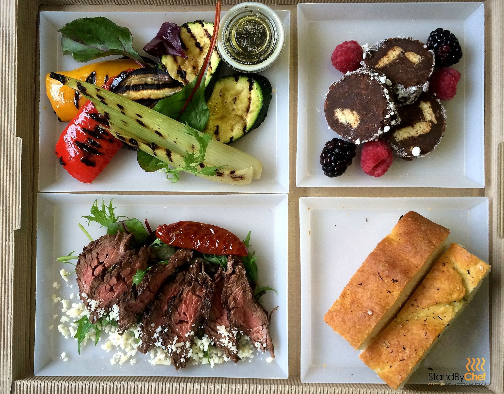 individual office lunch tray, plateau repas for your meetings