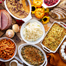 Load image into Gallery viewer, Thanksgiving Dinner - Delivered Hot - Serves 6