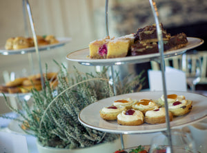 plant based afternoon tea delivered to you