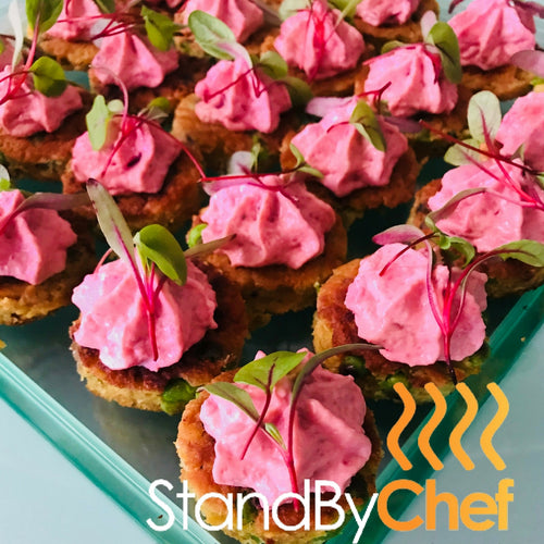 Vegan Canapes Delivered in London