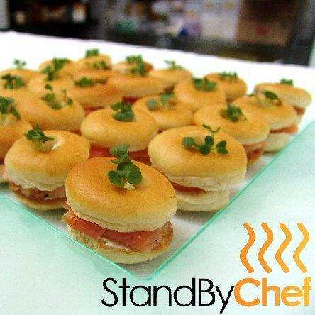 Made to order canapes for delivery for Canape delivery