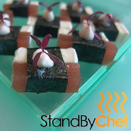 Catering for your Canapes needs with a made to order selection