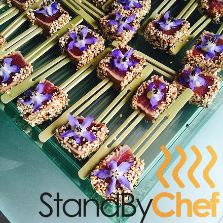 Luxury premium canapes delivered for Canape delivery london