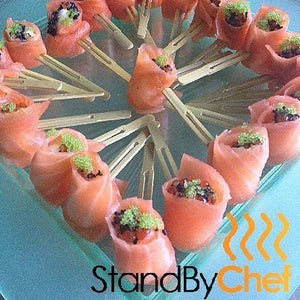 buy luxury canapes and party food online